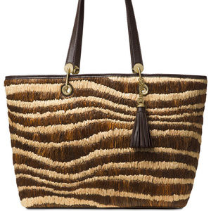 6a297a0b044a24 Michael Kors Bags - Michael Kors Malibu Large East/West Top Zip Bag